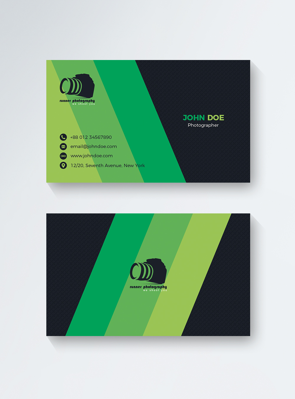 Photographer Business Card Template from img.lovepik.com