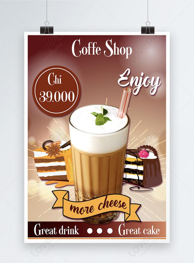 Poster Promosi Kedai Kopi Gambar Unduh Gratis Templat 450002145 Format Gambar Psd Lovepik Com