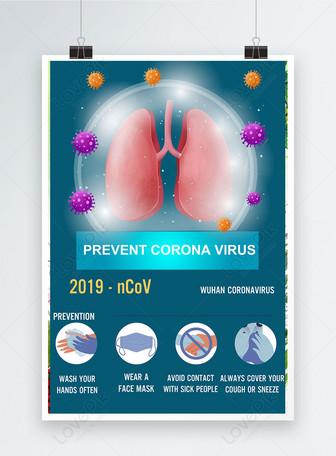 ways to against coronavirus poster Templates