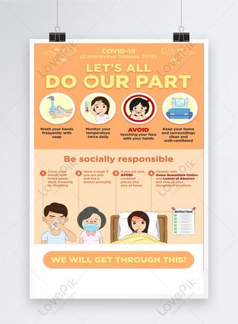 coronavirus proteggere te stesso poster suggerimenti Modelli