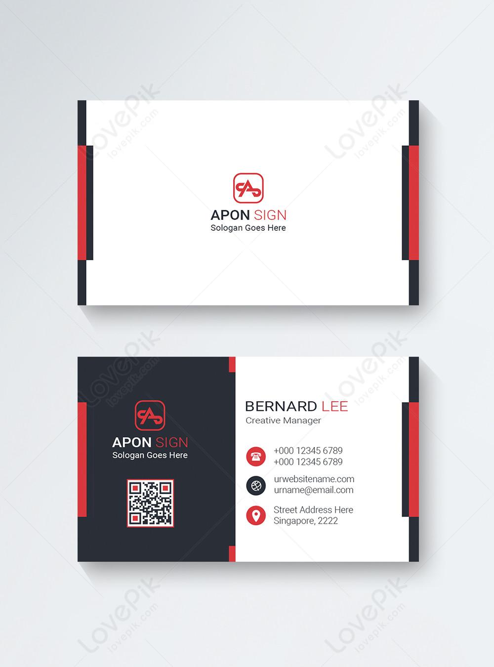 Desain Kartu Nama Perusahaan Gambar Unduh Gratis Templat 450004308 Format Gambar Psd Lovepik Com
