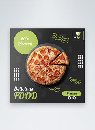 Vendita di cibo Social Media Post Modelli