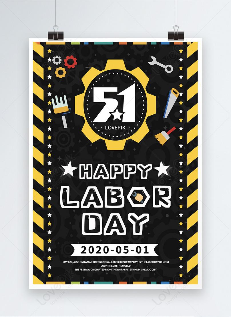 international labor day 2020 poster