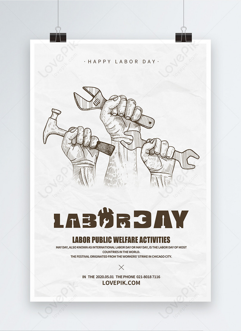 international labor day poster