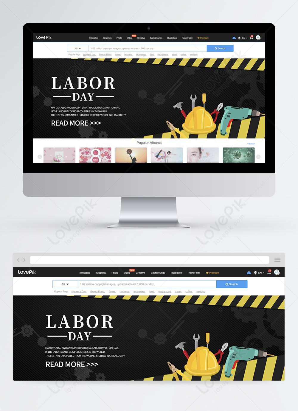Happy Labor Day Web Banner Design Template Image Picture Free Download 450006530 Lovepik Com