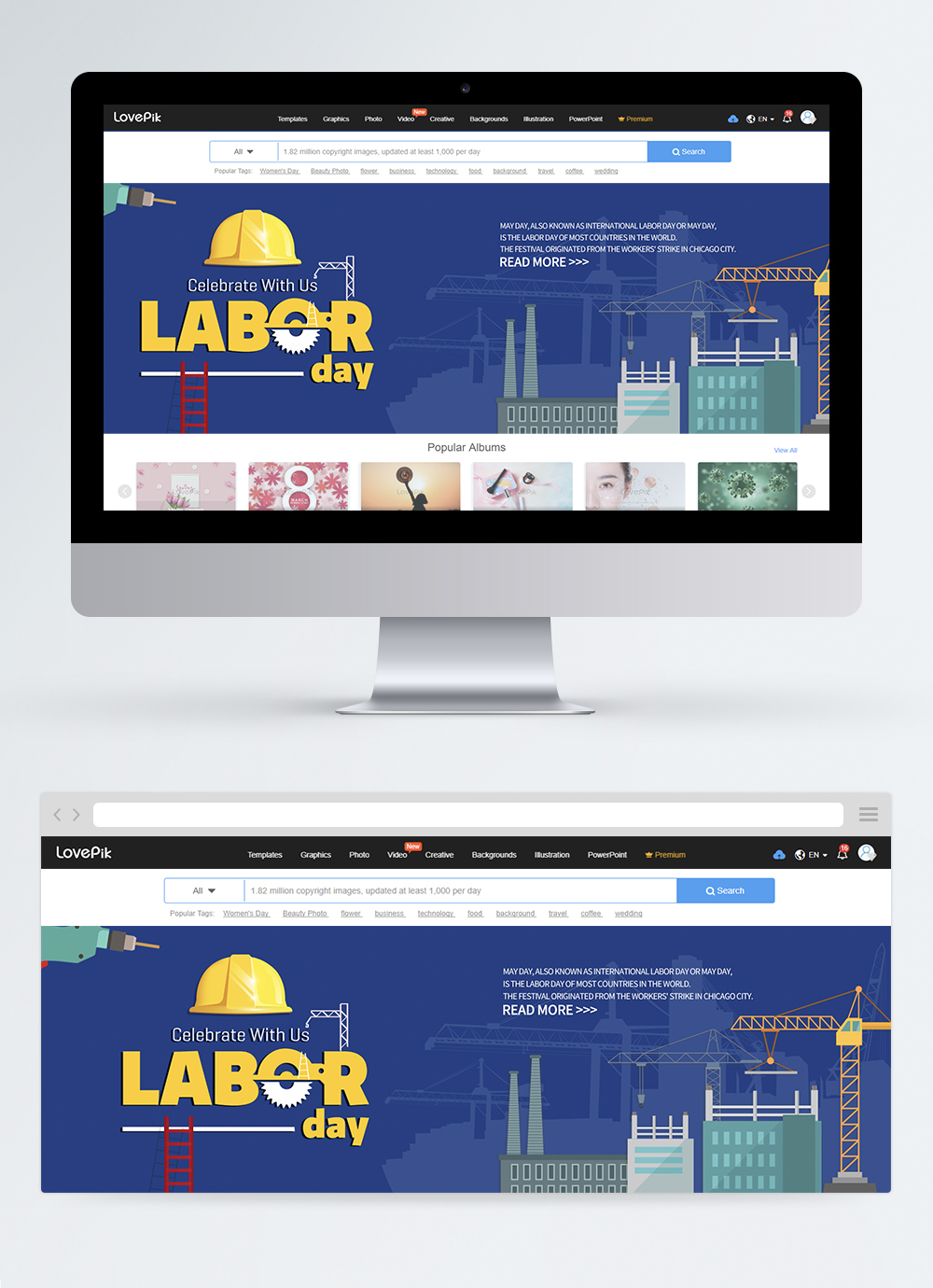 International Labor Day Sale Web Banner Design Template Image Picture Free Download 450006539 Lovepik Com