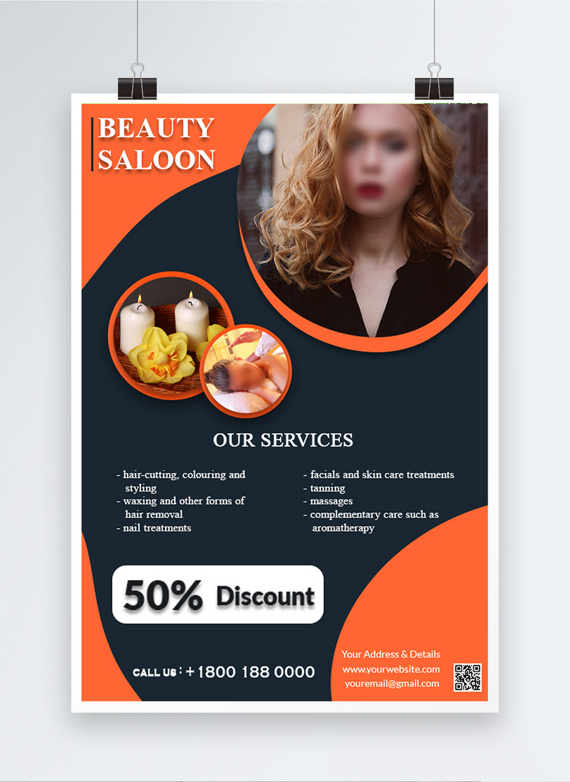 Beauty Saloon Promotional Psd Flyer Template Image Picture Free Download 450006676 Lovepik Com