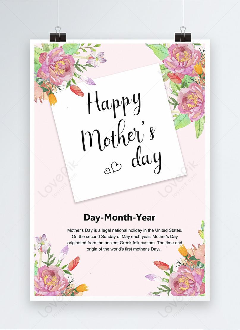 Poster Kad Ucapan Selamat Hari Ibu Gambar Unduh Gratis Imej 450007567 Format Psd My Lovepik Com
