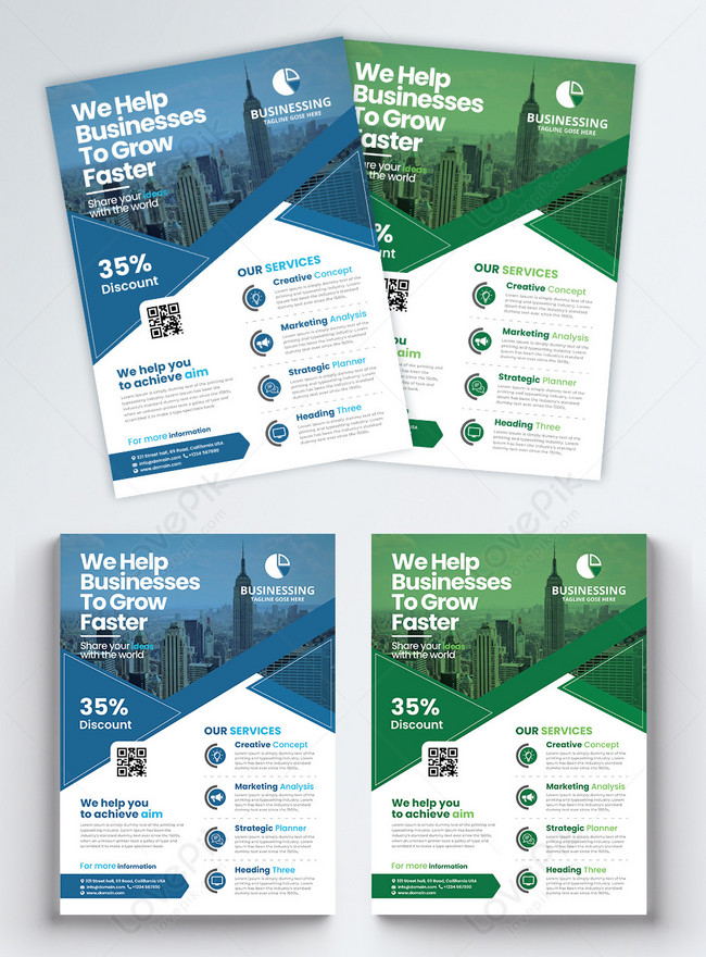 company business flyer