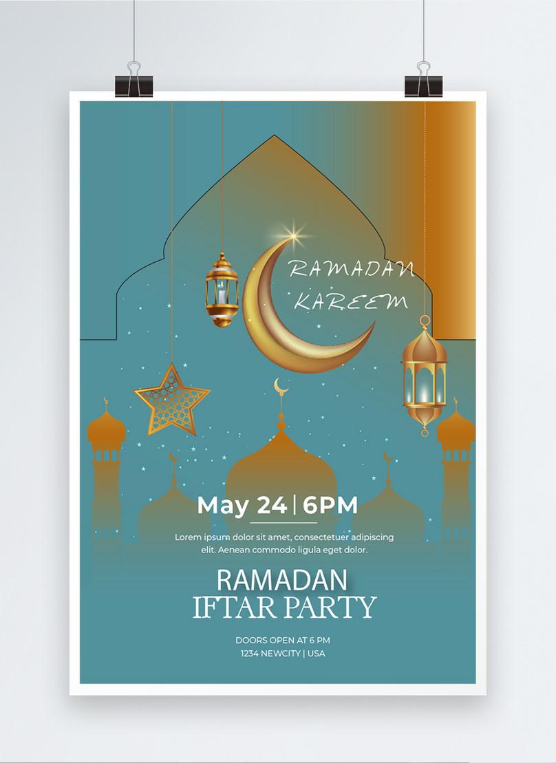 Poster Pesta Iftar Ramadan Gambar Unduh Gratis Imej 450008943 Format Ai My Lovepik Com