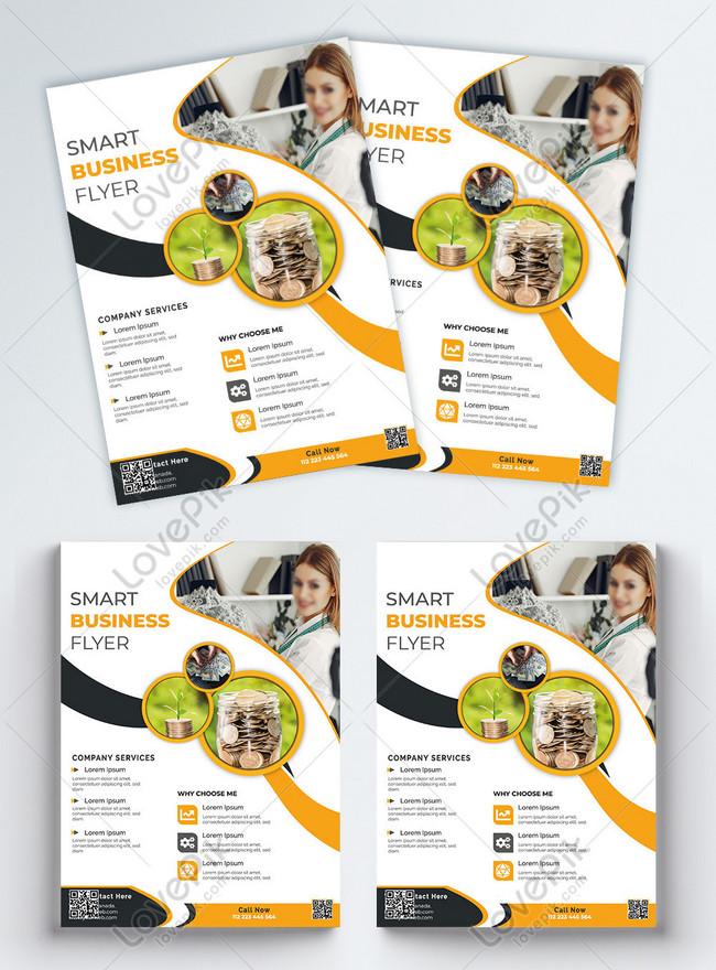 latest digital company business flyer
