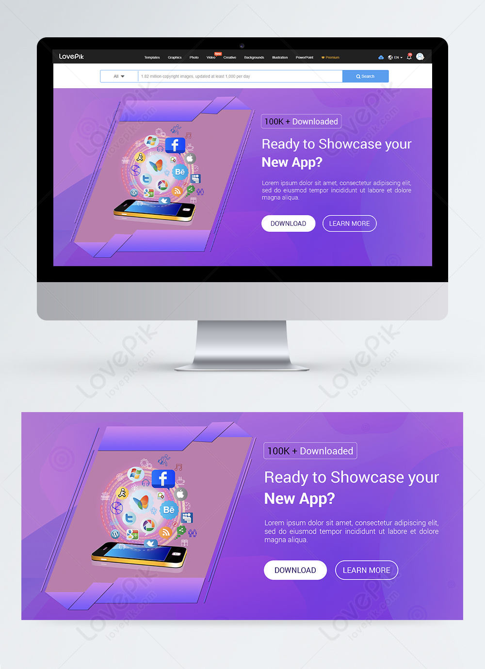 Creative App Store Website Homepage Banner Template Image Picture Free Download 450013100 Lovepik Com