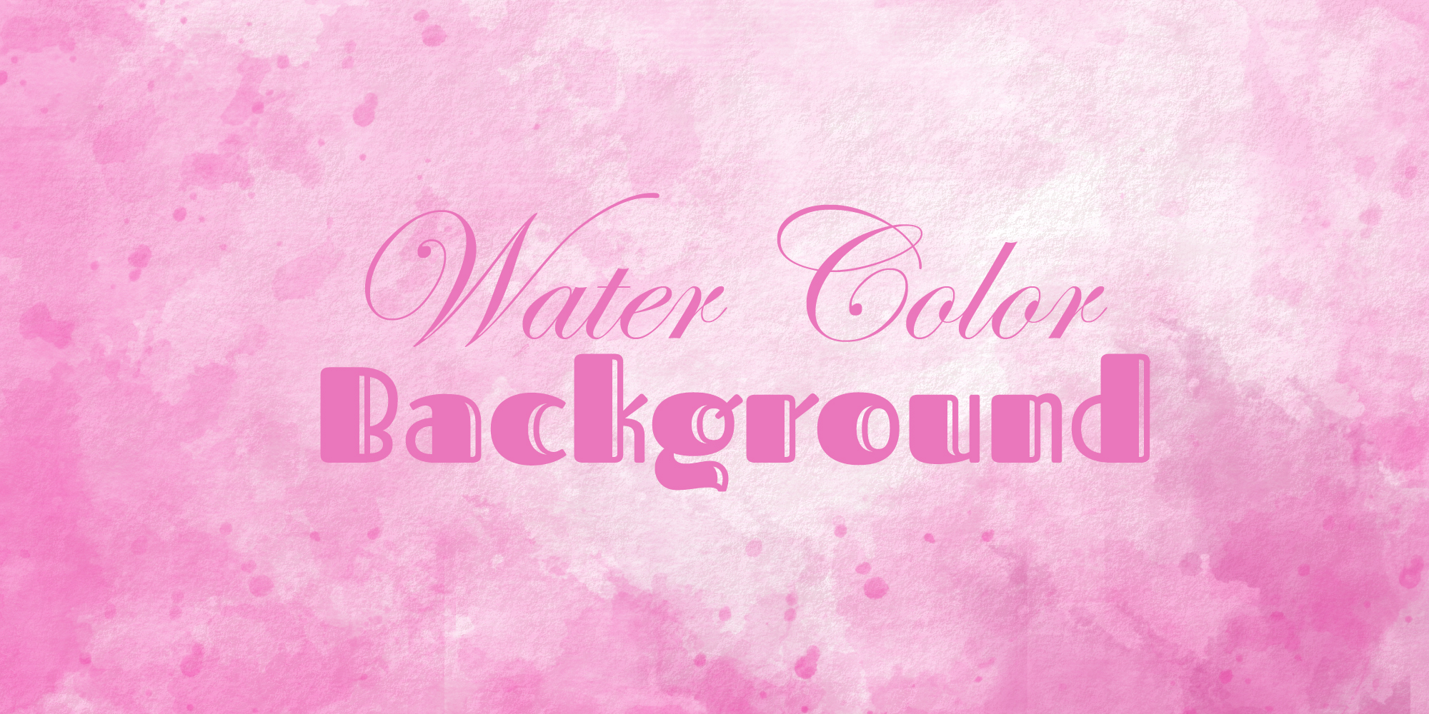 pink romantic watercolor background