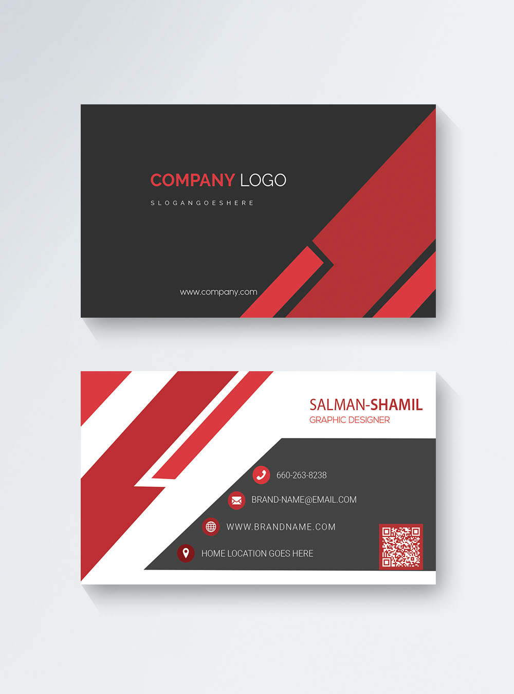 Creative Fashion Business Card Template Image Picture Free Download 450017520 Lovepik Com