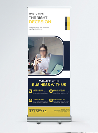 professional special Corporate business roll up banner Templates