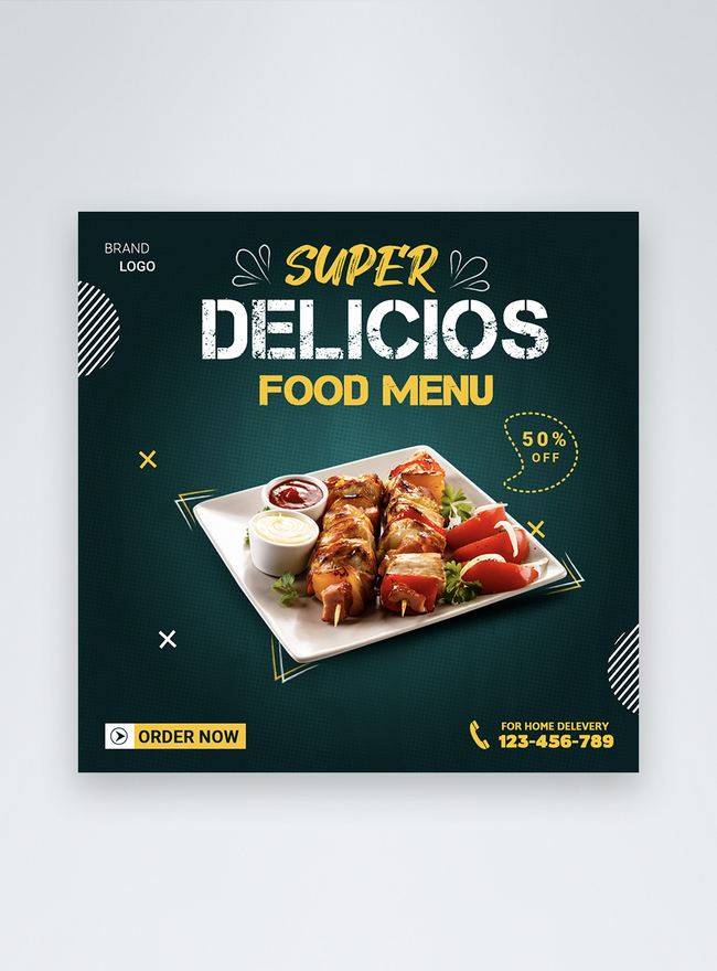 Latest Delicious Restaurant Food Discount Social Media Post Template Image Picture Free Download 450031447 Lovepik Com