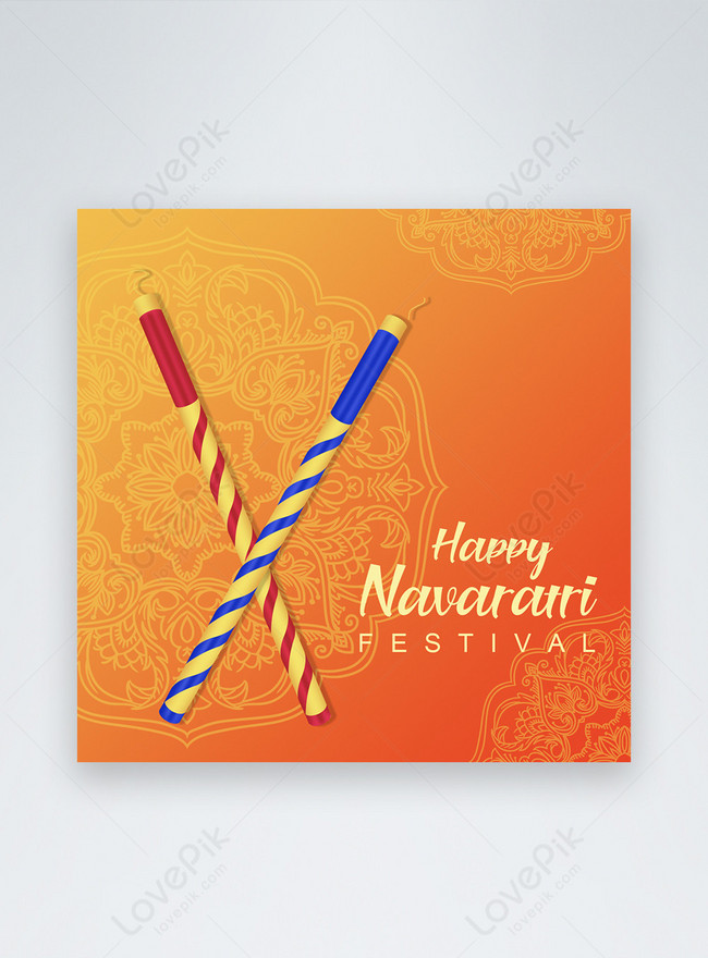happy navratri Празднуйте публикацию в социальных сетях