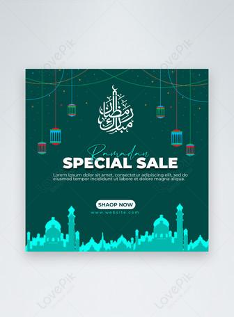 Ramadan Jualan Khas Media Sosial Templat