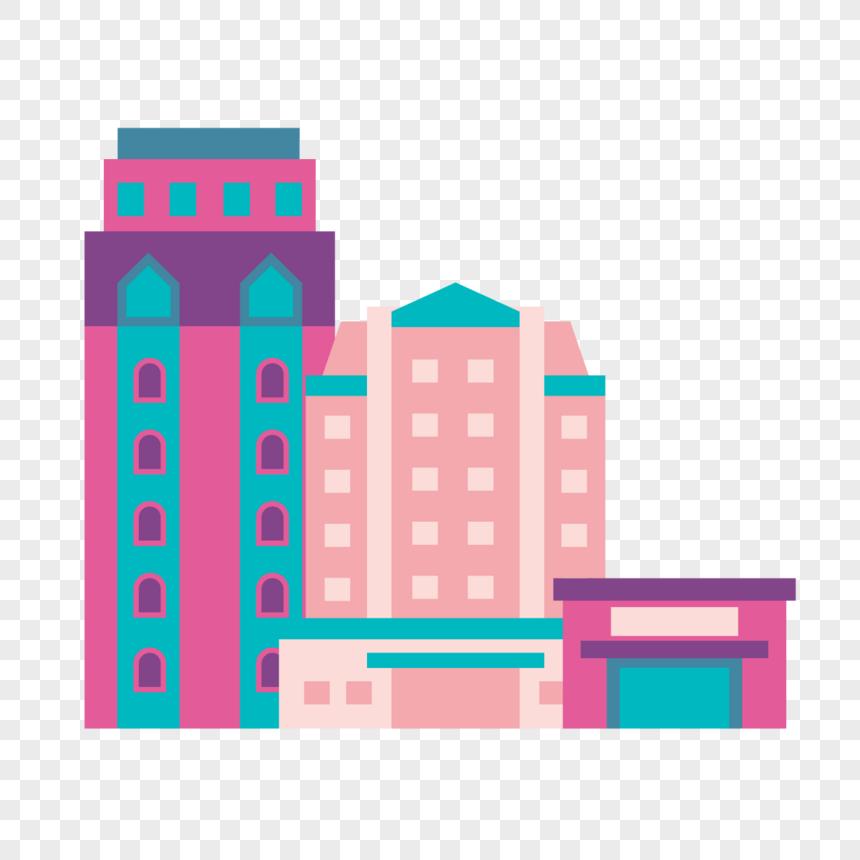 城市建築 png