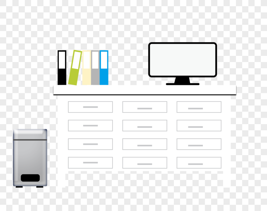 business office material png