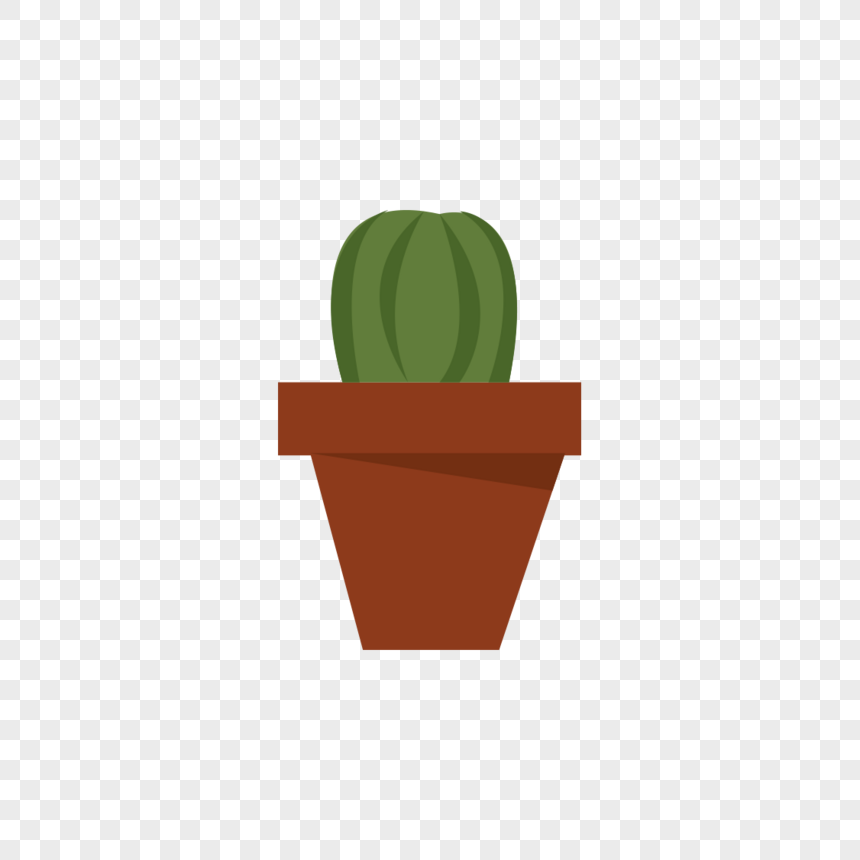 vectorial cactus potted plant png