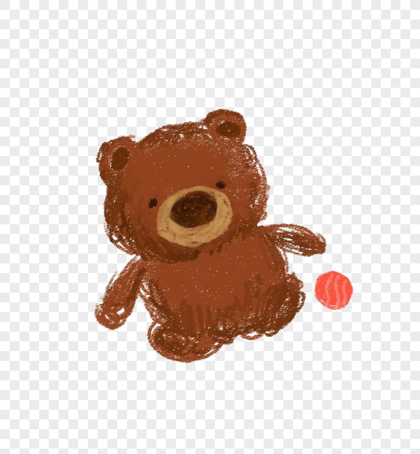 Anak Patung Beruang El Gambar Unduh Gratis Imej