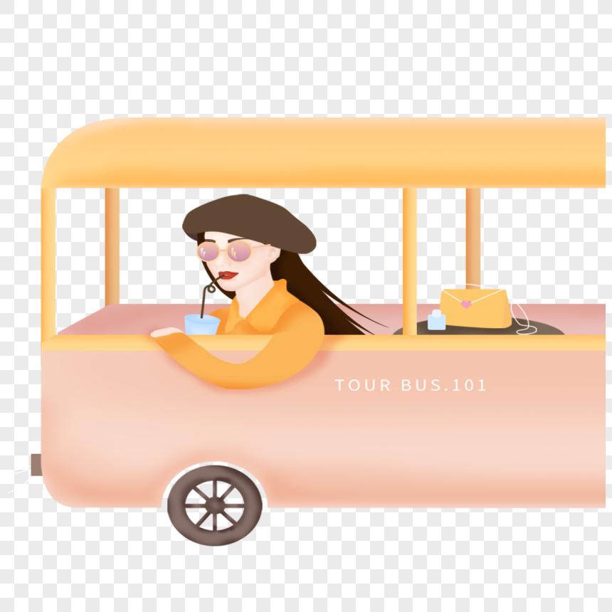 car girl png