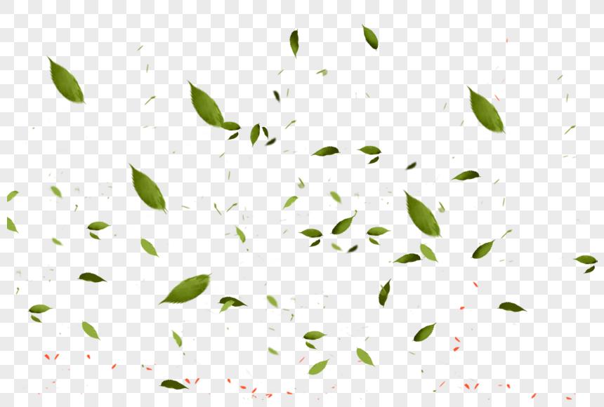fluttering leaves png