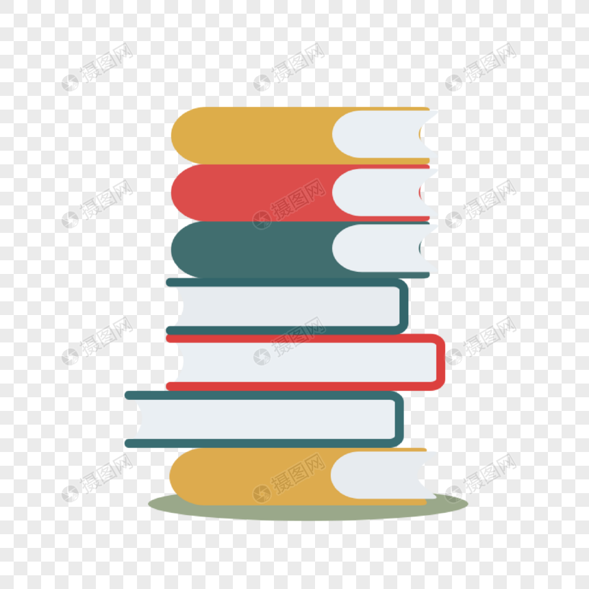 a pile of books png