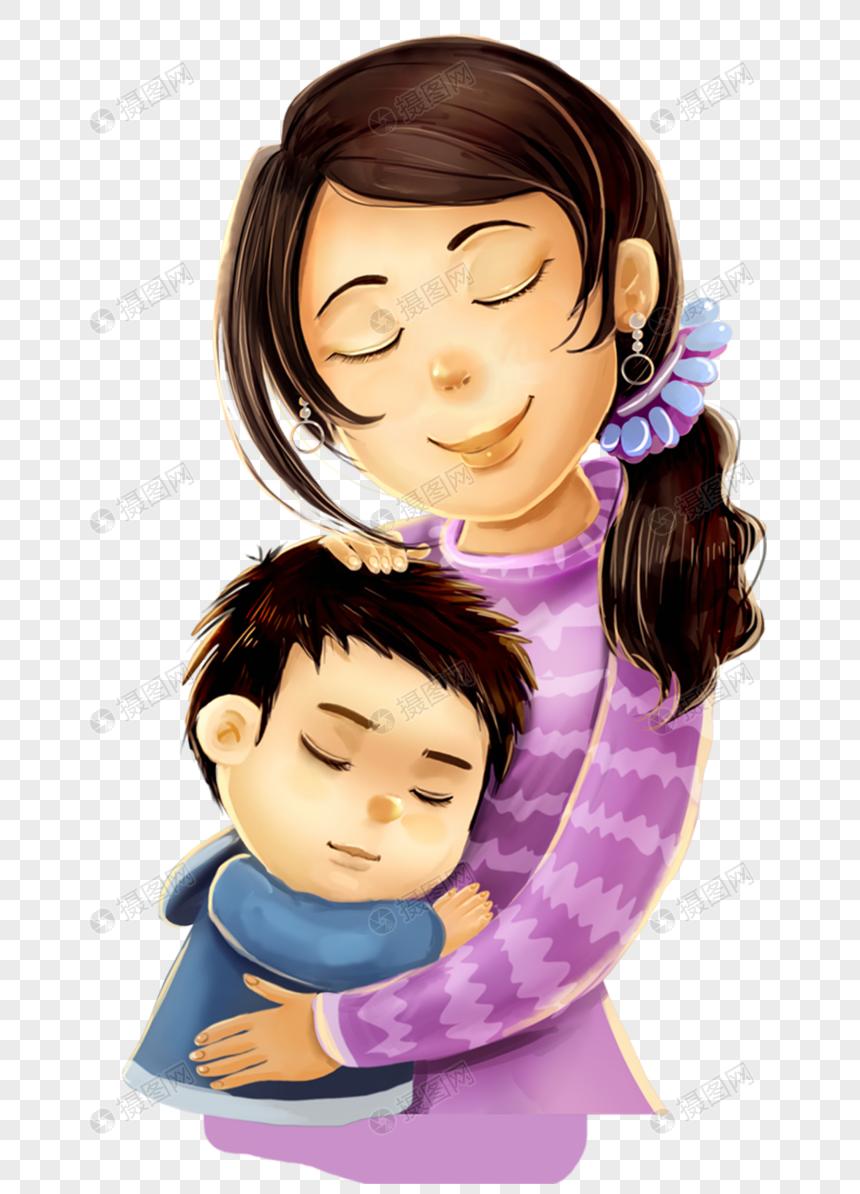 Memeluk Ibu Dan Anak Gambar Unduh Gratis Imej 400223493 Format Png My Lovepik Com