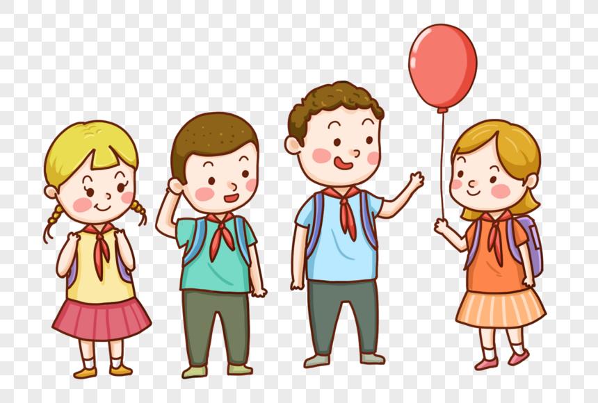 手繪卡通兒童 png