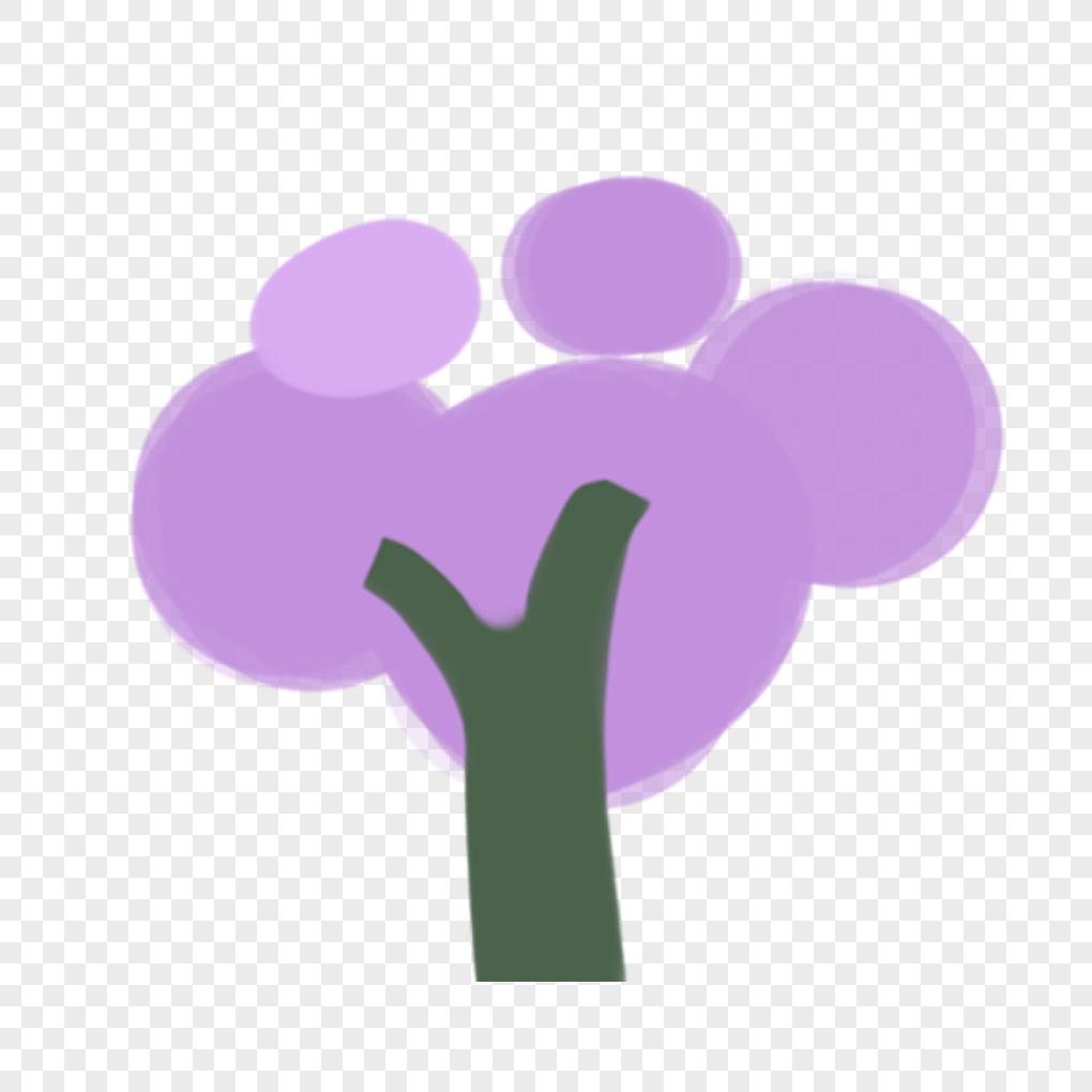 photo de arbre violet_numéro de l'image400235310_format d'image _fr