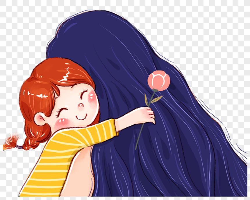 Memeluk Ibu Dan Anak Perempuan Gambar Unduh Gratis Imej 400236866 Format Png My Lovepik Com