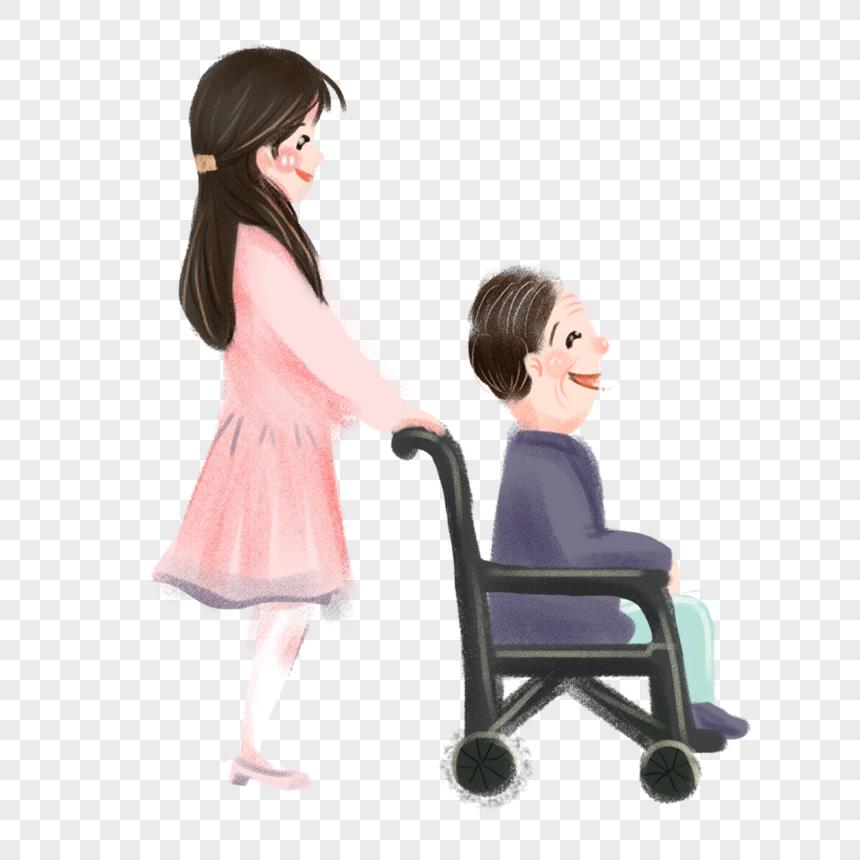 106 Gambar Kartun Orang Pake Kursi Roda Gratis Terbaru