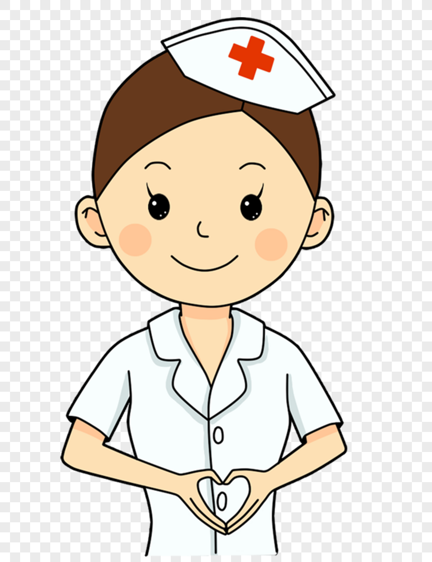 nurse with heart png
