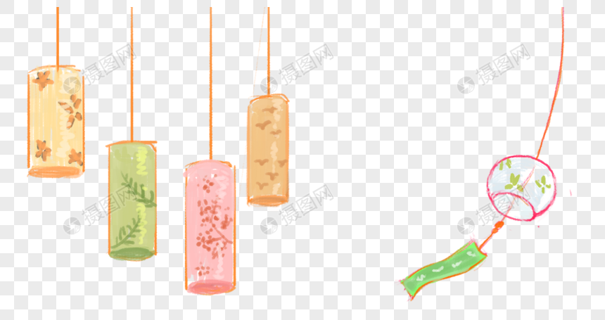 wind chime png