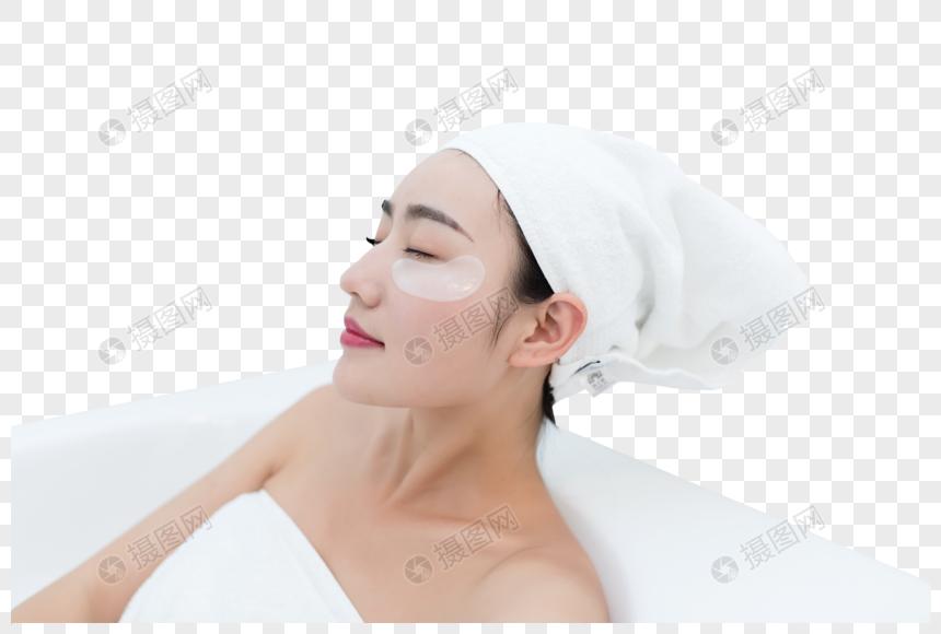 máscara de olho jovem banho de beleza png