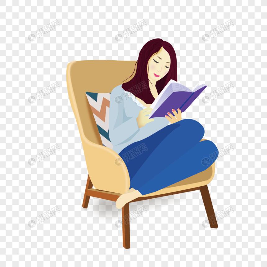 Menina Lendo Um Livro Imagem Gratis Graficos Numero 400255596 Png