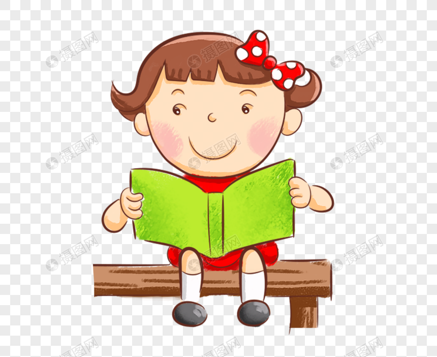 children reading books png