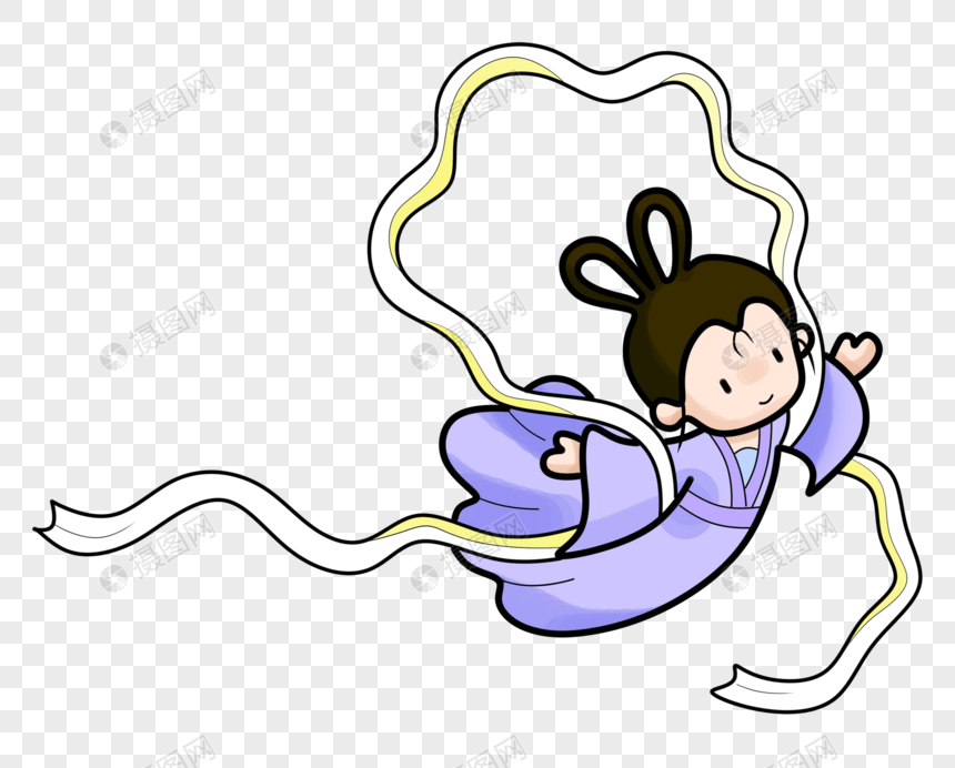 the mid autumn festival cartoon change png