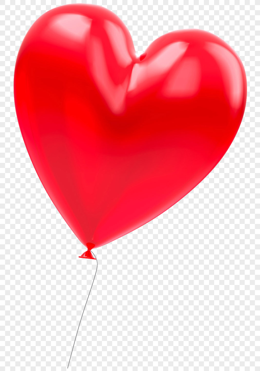 Red Heart Shaped Balloon Png Imagepicture Free Download