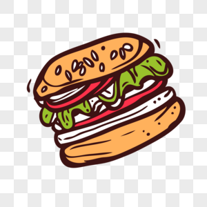 color cartoon fast food border images 344 color cartoon fast food