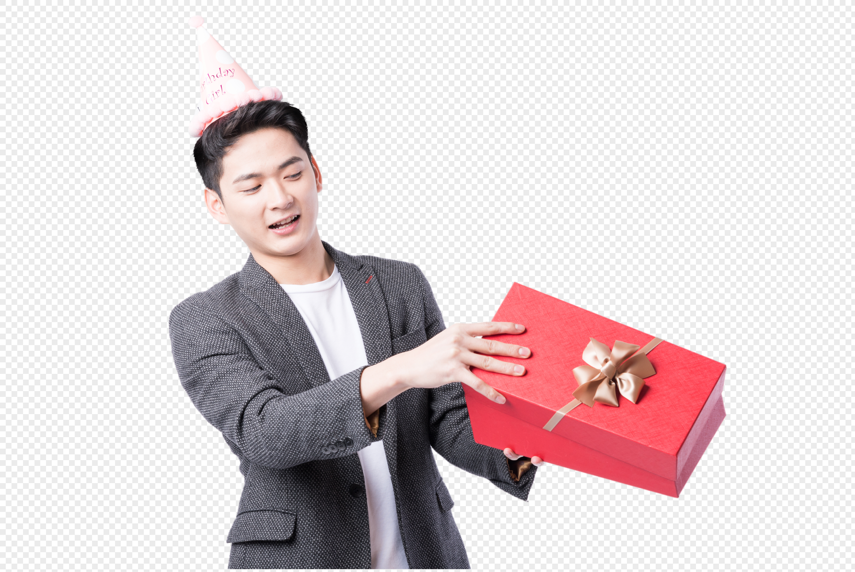 Young Men Receiving Surprise Birthday Gifts