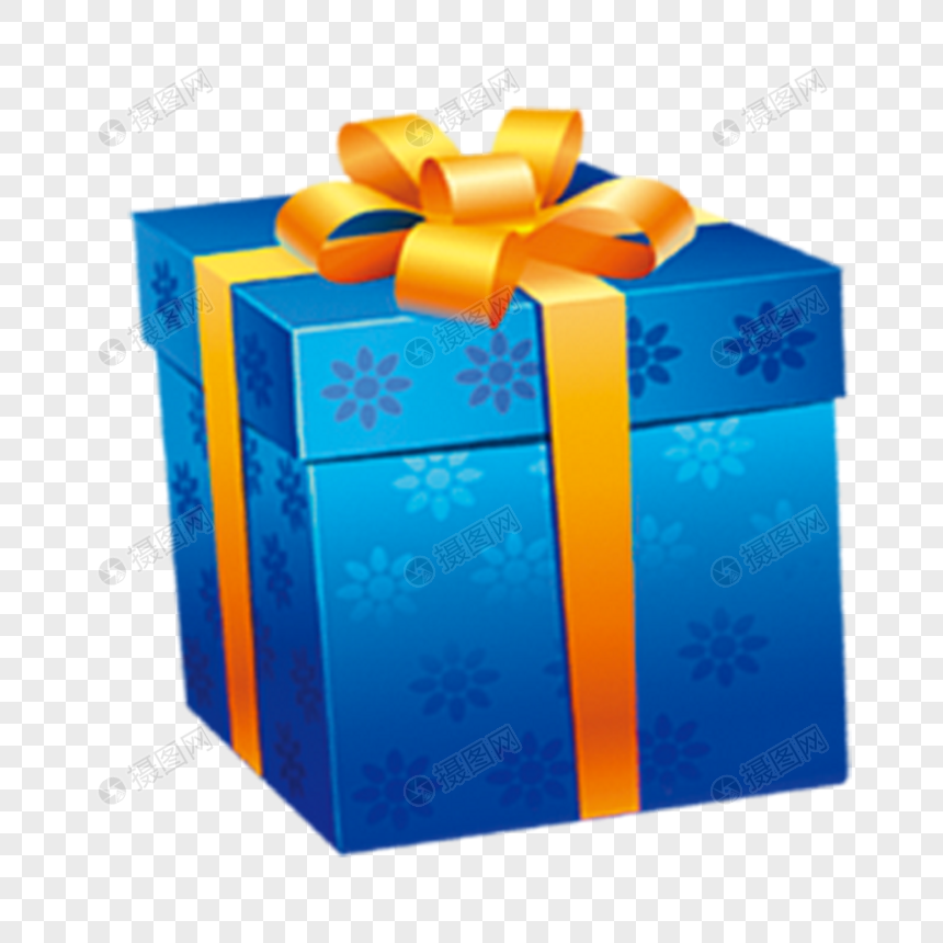 Blue Gift Box Png Image_picture Free Download 400281010