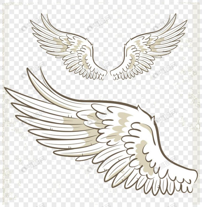 漫画の手描きの羽のイラストイメージグラフィックス Id 400282496prf