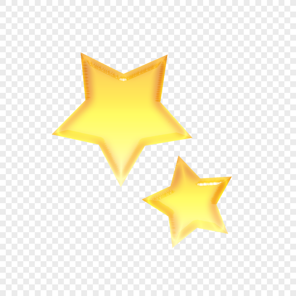 Yellow cartoon stars png image_picture free download ...