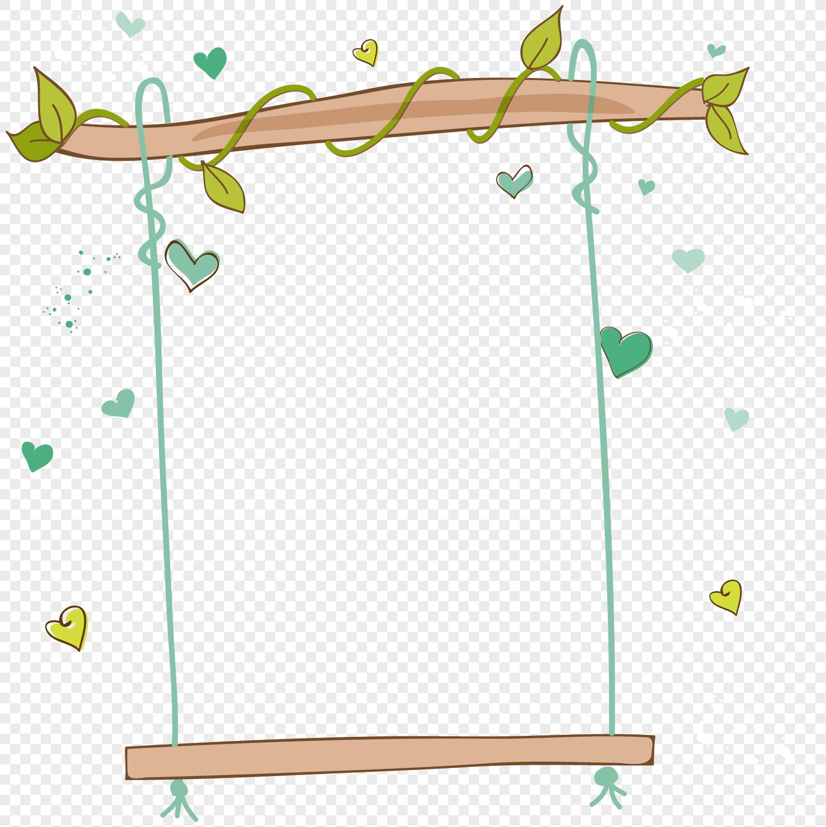 Dessin Balançoire photo de balançoire de dessin animé_numéro de l