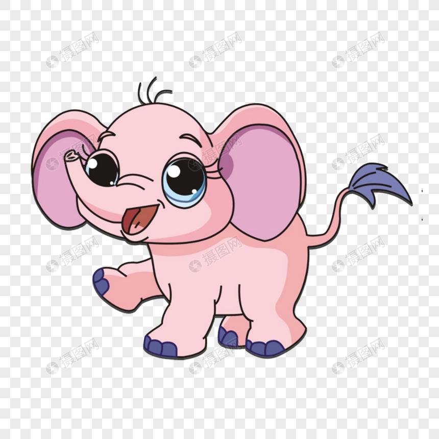 Gajah Kartun Bayi Gambar Unduh Gratisimej 400293988format Psdmy