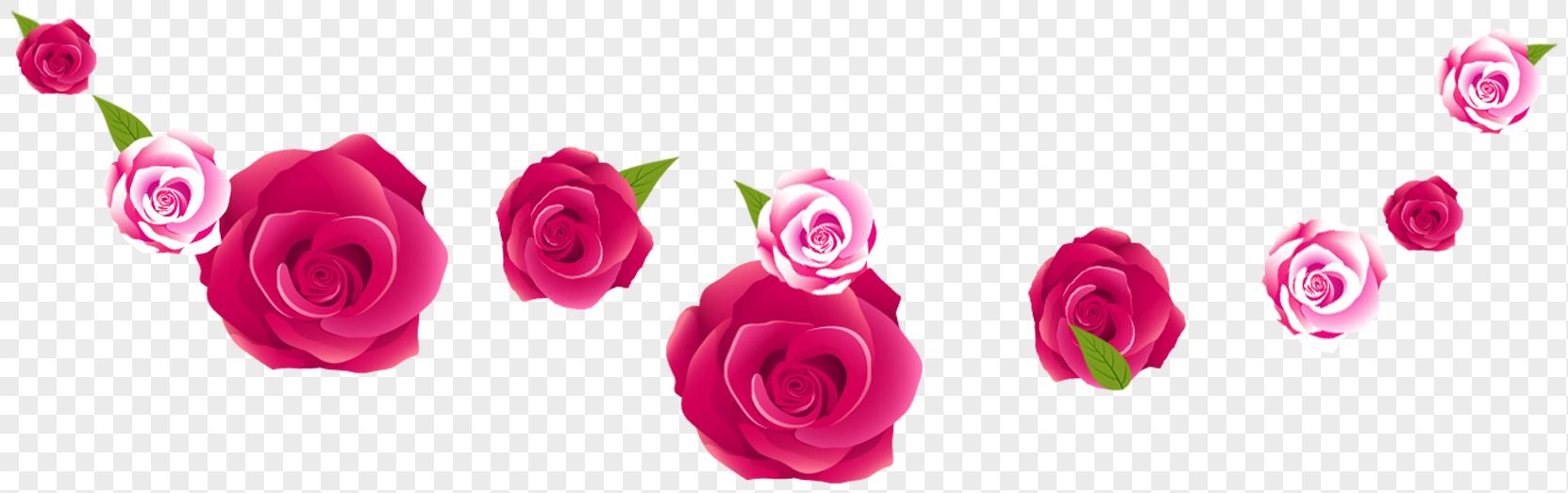 Pink rose flower border imagepicture 400304173lovepik free pink rose flower border mightylinksfo