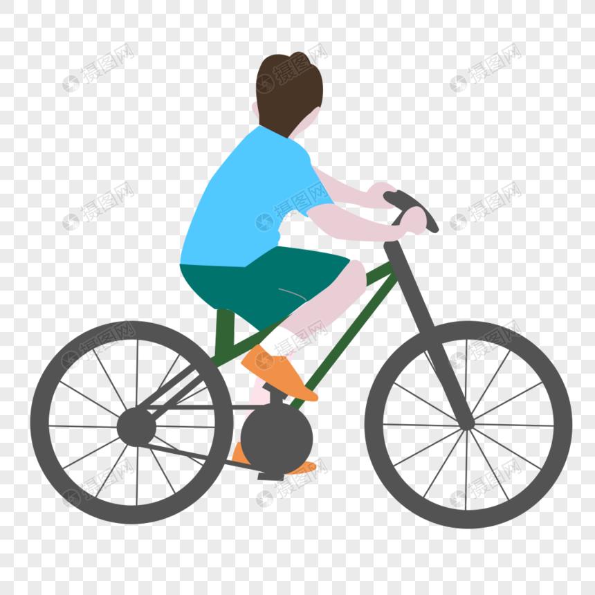 kids riding a bike png